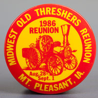1986 Souvenir Button
