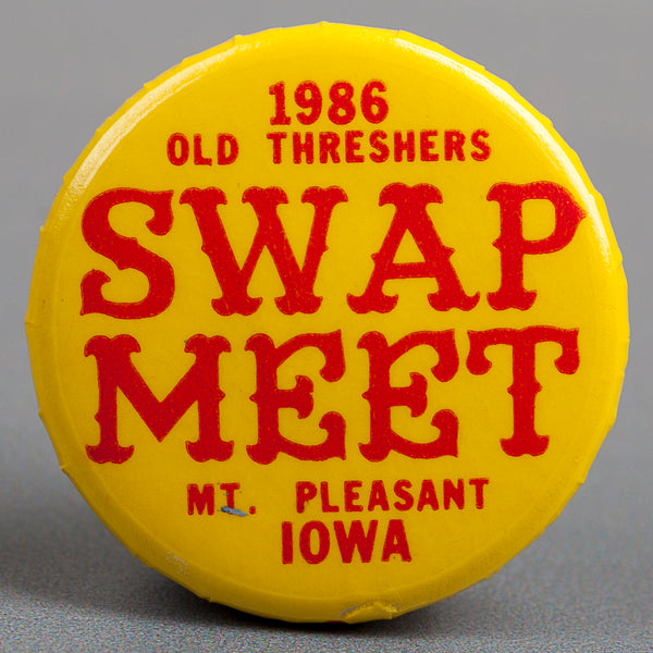 1986 Swap Meet Button