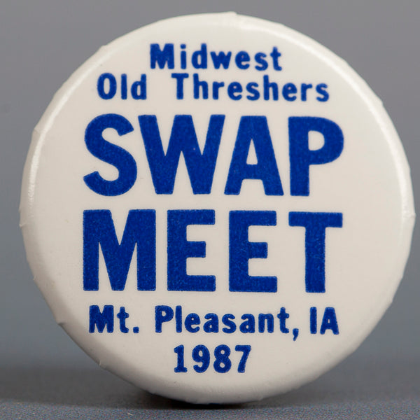 1987 Swap Meet Button