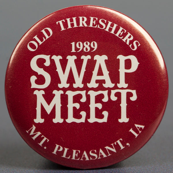 1989 Swap Meet Button