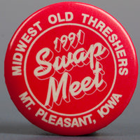 1991 Red Swap Meet Button
