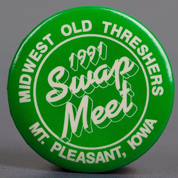 1991 Green Swap Meet Button
