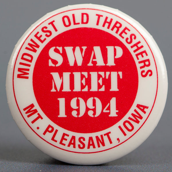 1994 Pink Swap Meet Button
