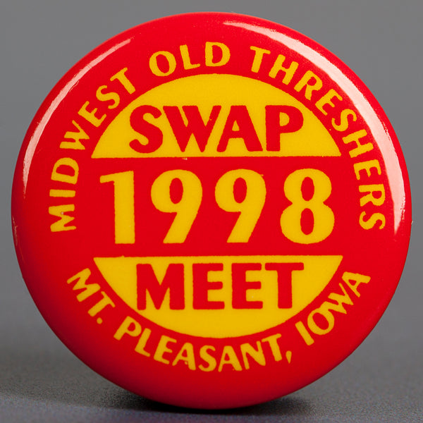 1998 Red Swap Meet Button