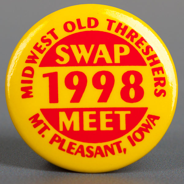 1998 Yellow Swap Meet Button