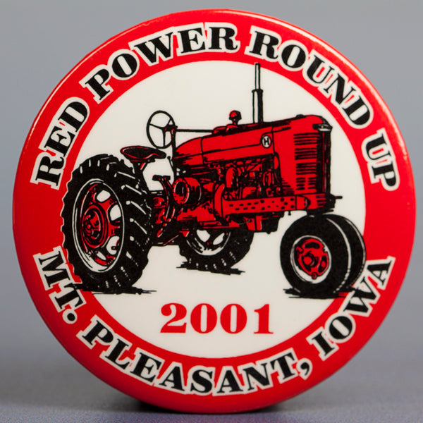 2001 Red Power Button