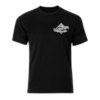 White Diamond Logo Black Tshirt