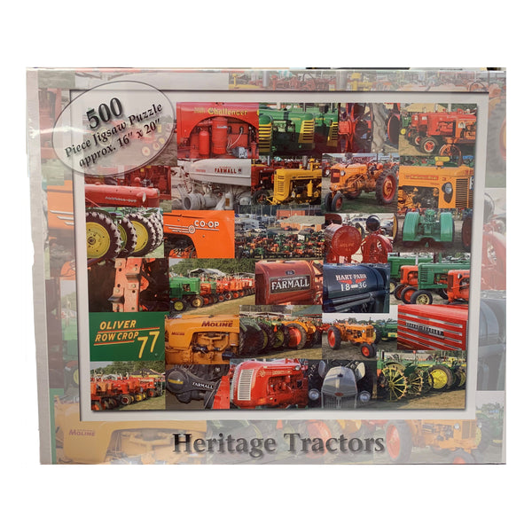 Heritage Tractor Puzzle