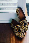 Millwoods-Leopard Leather Loafer