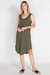Bailey Dress | Khaki