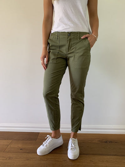 Kireina - Soho Utility Pants | Washed Khaki