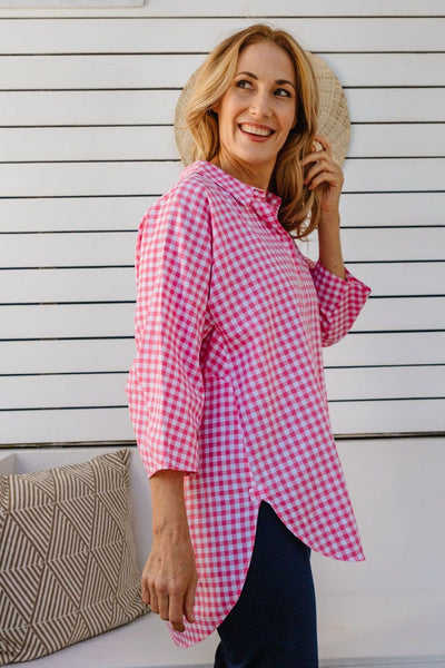 GC Hot Pink Check Shirt