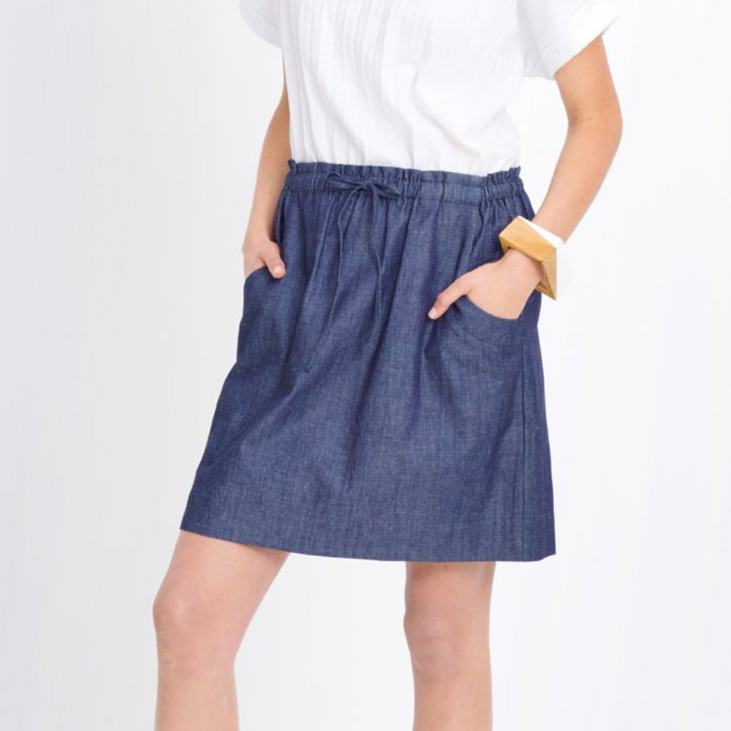 Elk - Denim Skirt | Cham