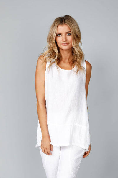 Shanty Corp-Numinous Top  | White