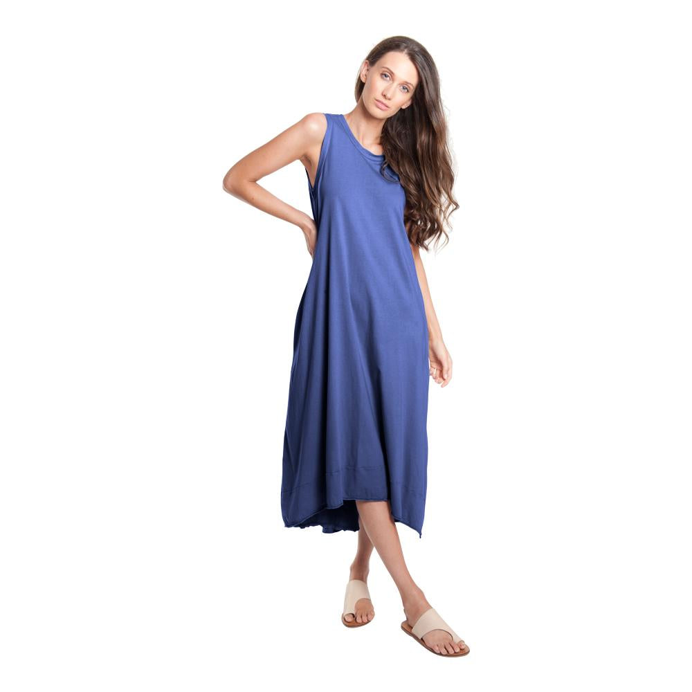 Miles From - Tie Back Maxi Dress  | Navy