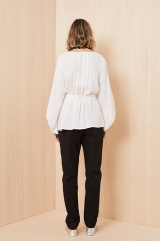 The Dreamer Label - Gotland Blouse | Ivory