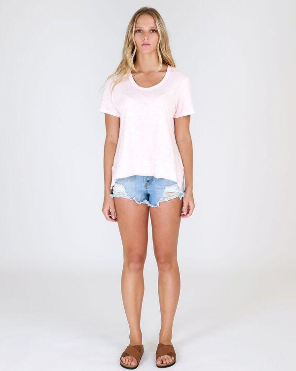 3rd Story The Label - Austin Tee | Blush