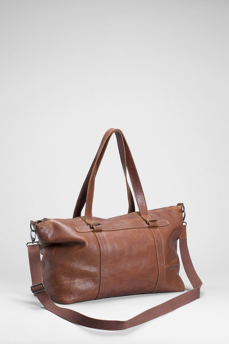 Elk-Mand Overnight Bag | Tan