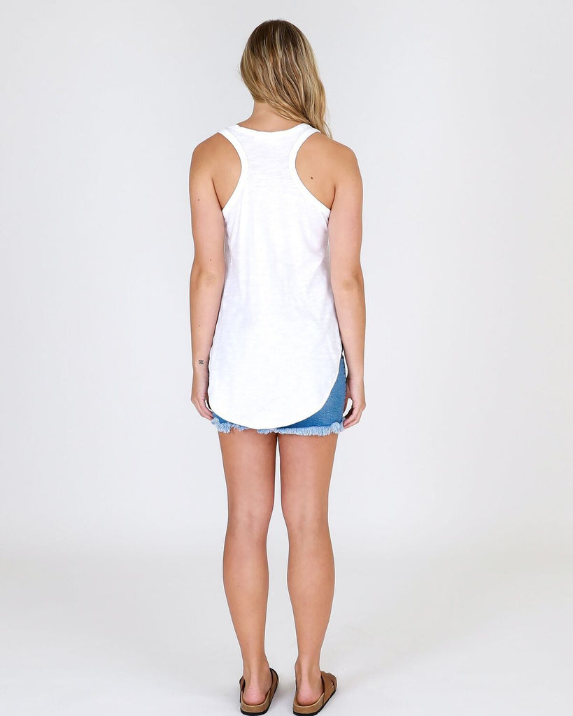 The 3rd Story The Label - Hamilton Tank  | White