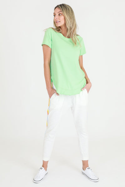 Paddington Tee | Neon Mint