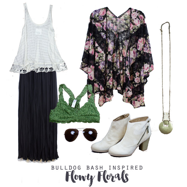 Outfit Inspiration, Flowy Florals