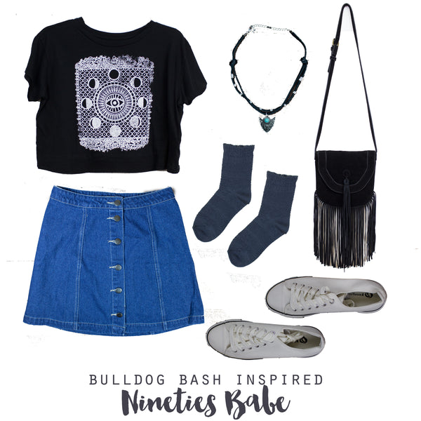 Outfit Inspiration, Nineties Babe