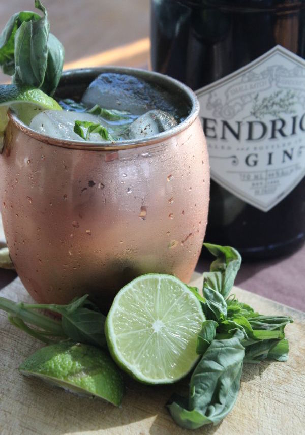 skinny drink recipe ginger moscow mule