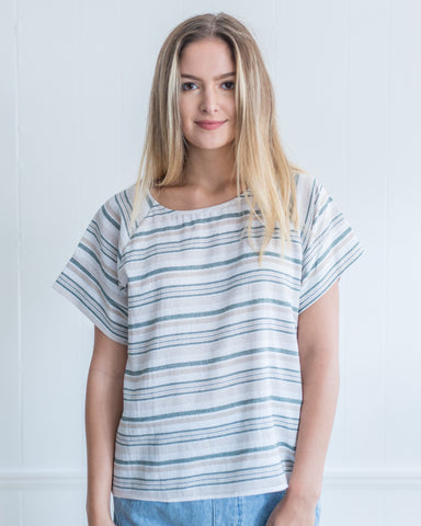 Following Stripes Top