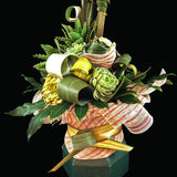 An original design of Harakeke (New Zealand Flax), Teresa Brough Designer Florist, NZ