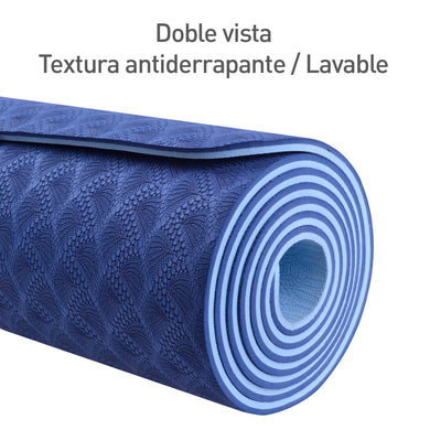 Tapete Yoga y Pilates Premium doble vista