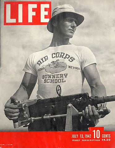 First military tee from cover of Life magazine July 1942