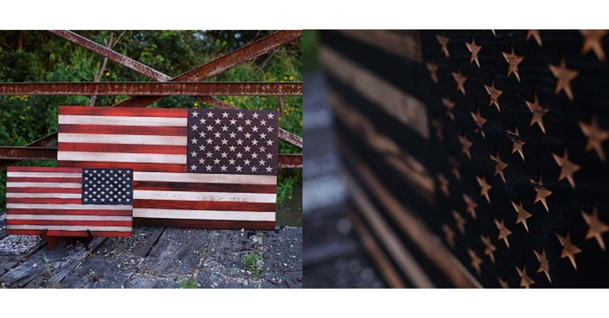 Fire For Effects LLC Custom Slatted Flag