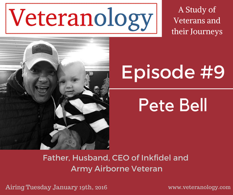 Veteranology Podcast interviews Inkfidel founder Pete Bell