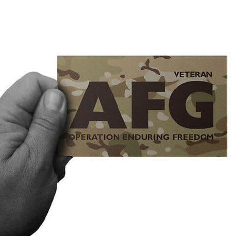 Multicam Operation Enduring Freedom AFG Sticker - Inkfidel