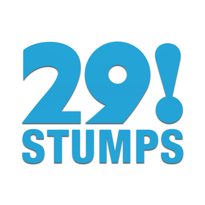 29 Stumps Decal - Inkfidel
