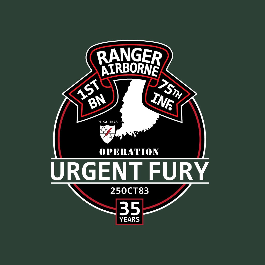 Urgent Fury 35th Anniversary - ENDED