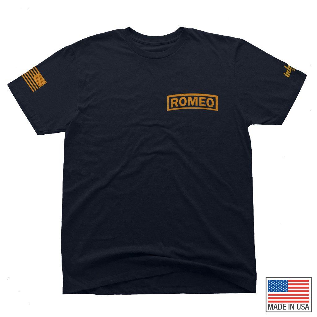 96 Romeo Tee Navy Blue