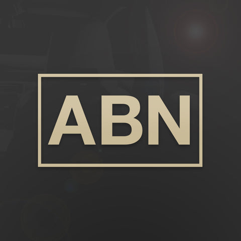 Die-Cut ABN Army Airborne Decal - Inkfidel