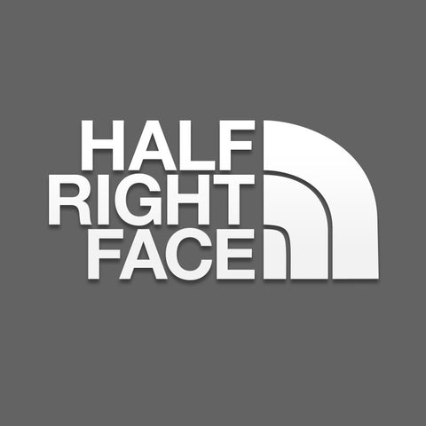 Die-Cut Half Right Face - Inkfidel