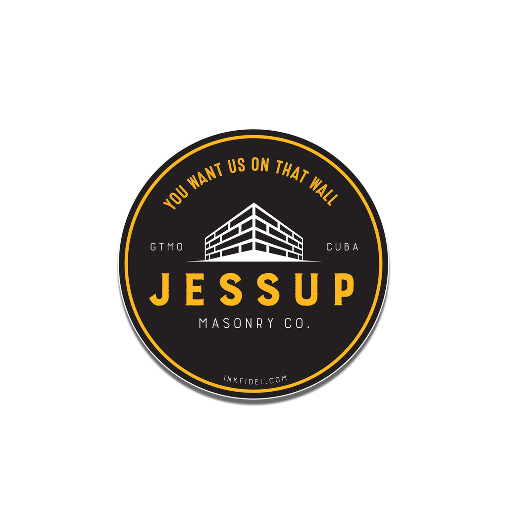 Jessup Masonry Co Sticker - Inkfidel