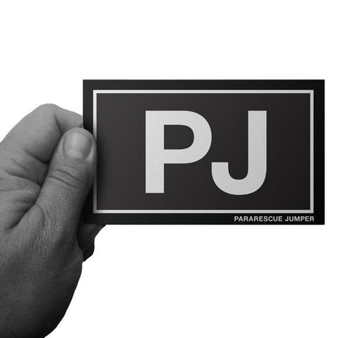 Black and White PJ Pararescue Decal - Inkfidel