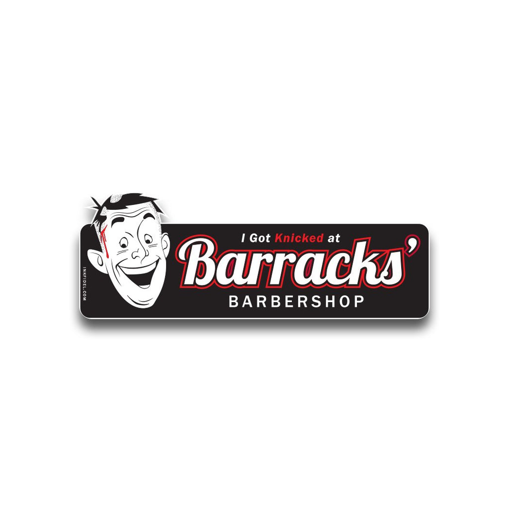 Barracks' Barbershop - Inkfidel