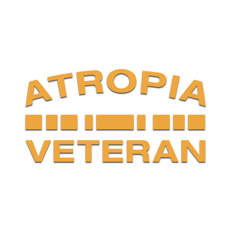 Atropia Veteran Decal - Inkfidel