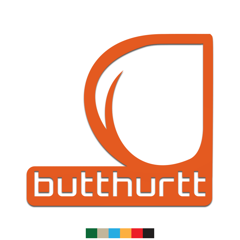 Butthurt Decal - Inkfidel