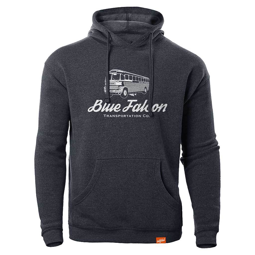 Classic Blue Falcon Hoodie - Inkfidel