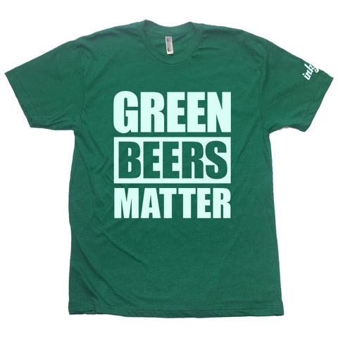 Inkfidel Green Beers Matter St. Patrick's Day Tee