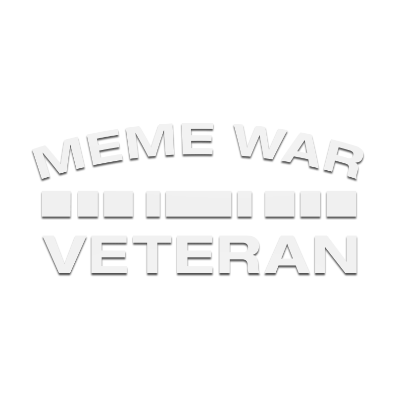 Meme War Veteran Decal - Inkfidel