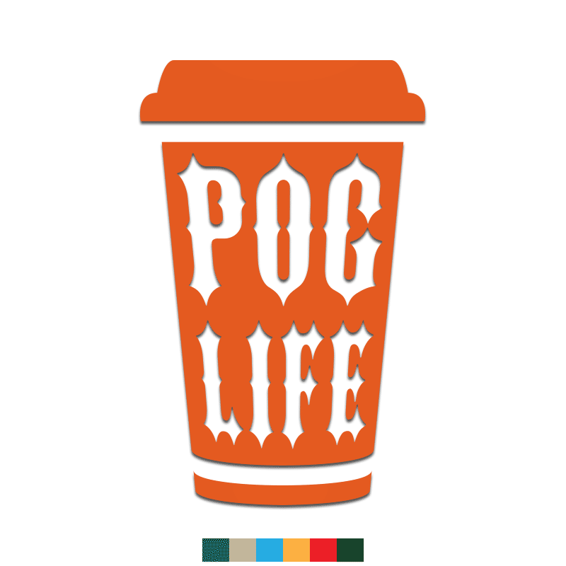 POG Life Decal - Inkfidel