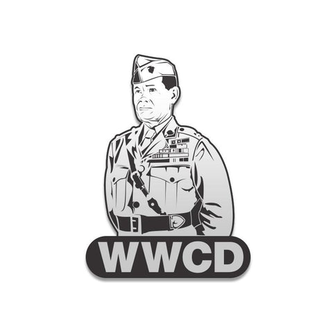 What Would Chesty Do Vinyl Decal - Inkfidel