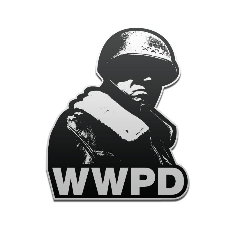 What Would Patton Do Vinyl Decal - Inkfidel